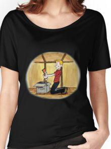 When Calvin will be tall Women's Relaxed Fit T-Shirt