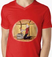 When Calvin will be tall Men's V-Neck T-Shirt
