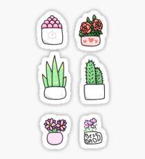 Pegatina pegatinas de plantas