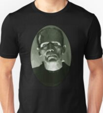Frankenstein in Low-Poly T-Shirt