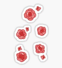 rose stickers Sticker