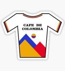 Retro Jerseys Collection - Cafe de Colombia Sticker
