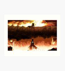 Eren Jaeger - Attack on Titans Art Print