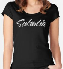 Troye Sivan - Suburbia Women's Fitted Scoop T-Shirt