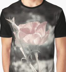 Soft Pink Rose Graphic T-Shirt