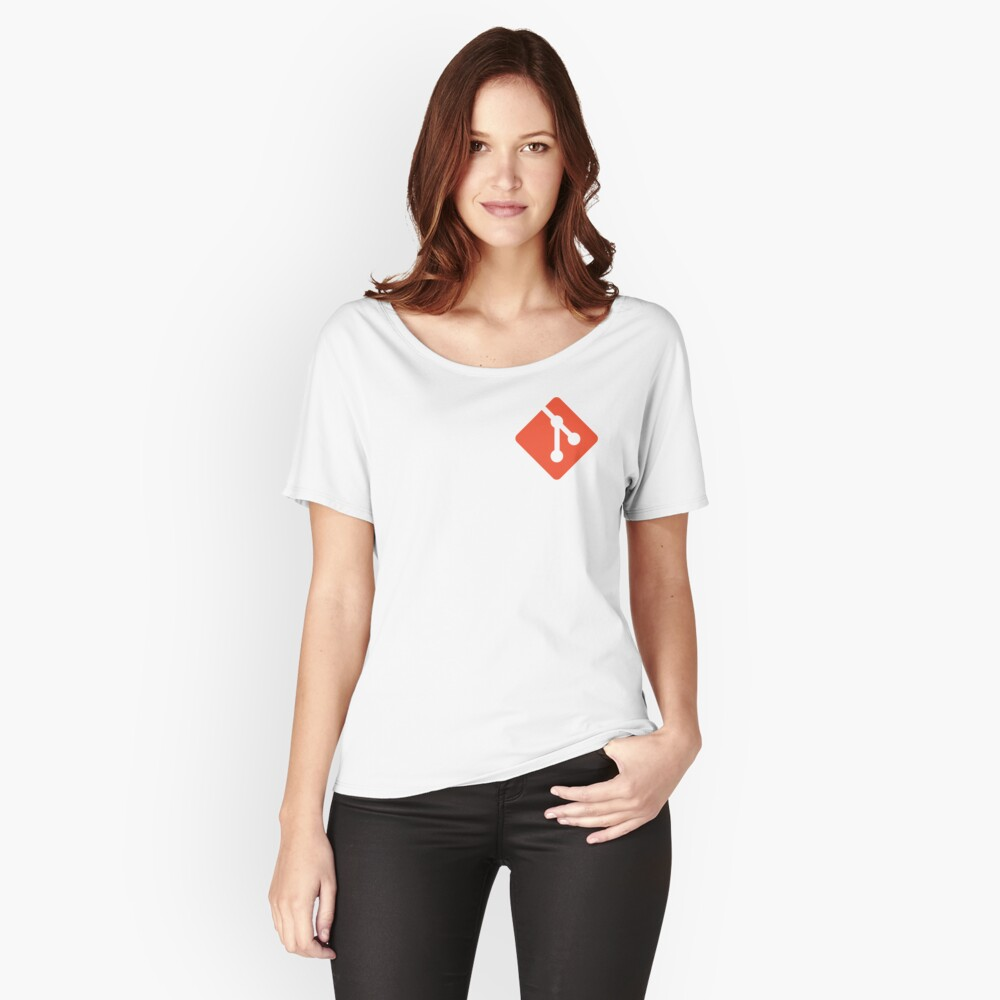 git Women's Relaxed Fit T-Shirt Front