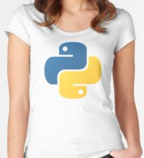 python Women's Fitted Scoop T-Shirt