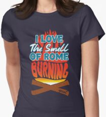 Spaceship Earth Women's Fitted T-Shirt