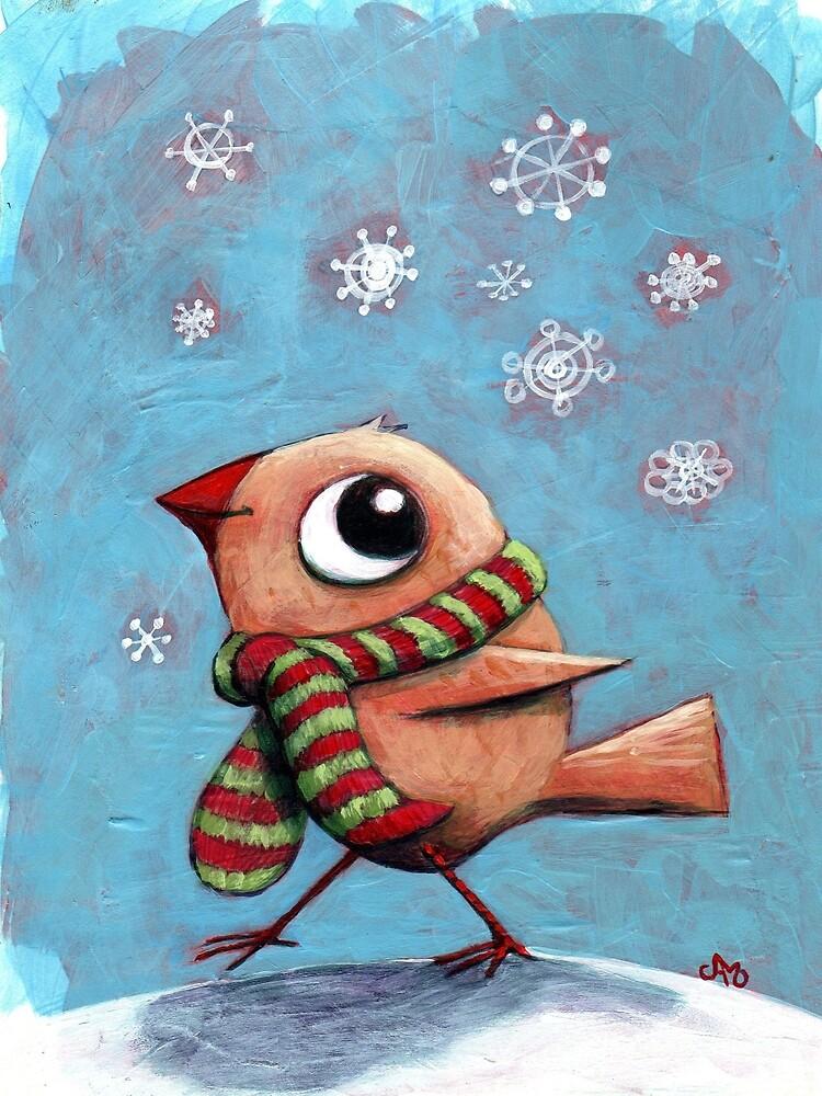 Holiday Bird by Judi Muscara Orfanos