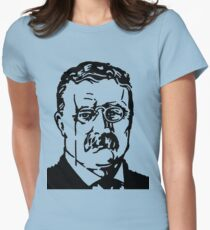 THEODORE ROOSEVELT Womens Fitted T-Shirt