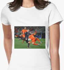 INIESTA - FIFA WORLD CUP 2010 Womens Fitted T-Shirt