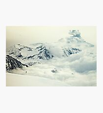 Frozen planet Photographic Print
