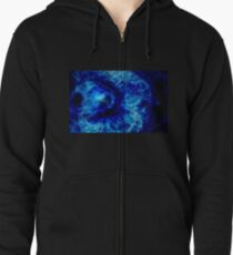 Magnificence gem Zipped Hoodie
