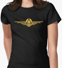 Gold colourCaste - Leader Women's Fitted T-Shirt