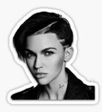 Ruby Rose 3 STICKER ONLY Sticker