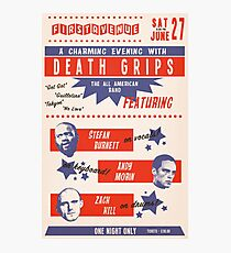 Retro Death Grips Photographic Print