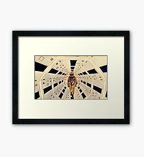 Kubrick's Space Odyssey Framed Print