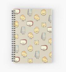Cuaderno de espiral CHEESE DOODLES HOORAY!!