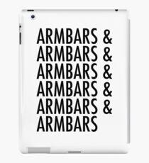 Armbars & Armbars & Armbars iPad Case/Skin