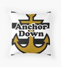 Vanderbilt University - Anchor Down Throw Pillow