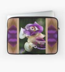 In A Twist Corkscrew Flower Laptop Sleeve
