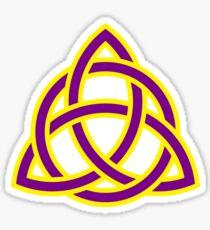 Triquetra, power of three Sticker