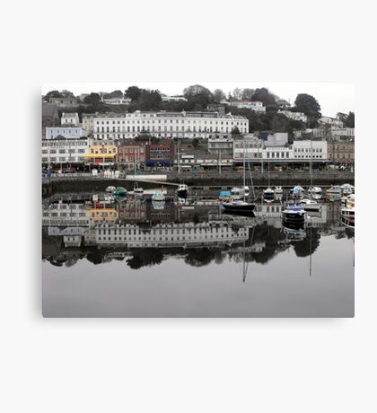 Reflections of Torquay Canvas Print