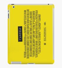 Fandom - The Movie iPad Case/Skin