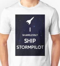 Shamelessly ship StormPilot Unisex T-Shirt