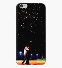 Mulder and scully baseball under the stars iPhone Case