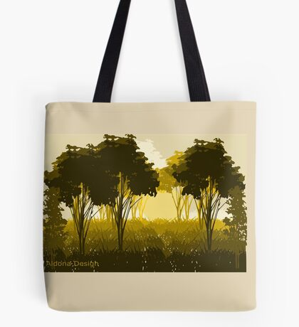 A scenery (3267 Views) Tote Bag