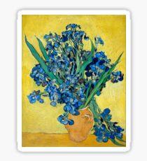 1890-Vincent van Gogh-Irises-73,5x92 Sticker
