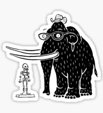 Frozen Mammoth Sticker
