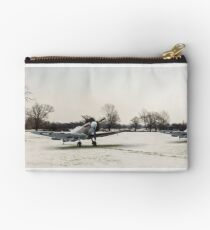 Spitfires in the snow Studio Pouch