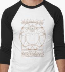 Vitruvian Neighbor Men's Baseball ¾ T-Shirt