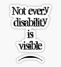 Disability Sticker