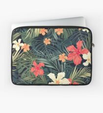 Jungle flowers Laptop Sleeve