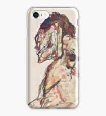 Egon Schiele - The Dancer 1913  Expressionism  Portrait iPhone Case/Skin