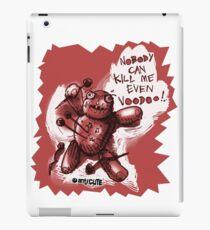 voodoo baby cartoon style red iPad Case/Skin