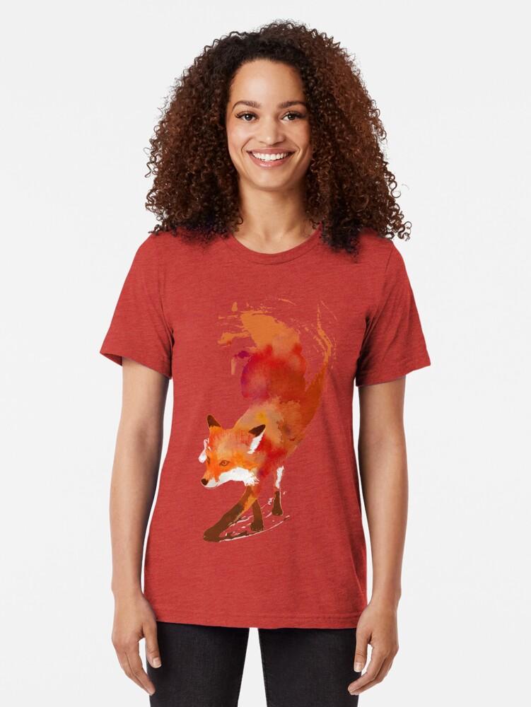 Alternative Ansicht von Vulpes Vulpes Vintage T-Shirt