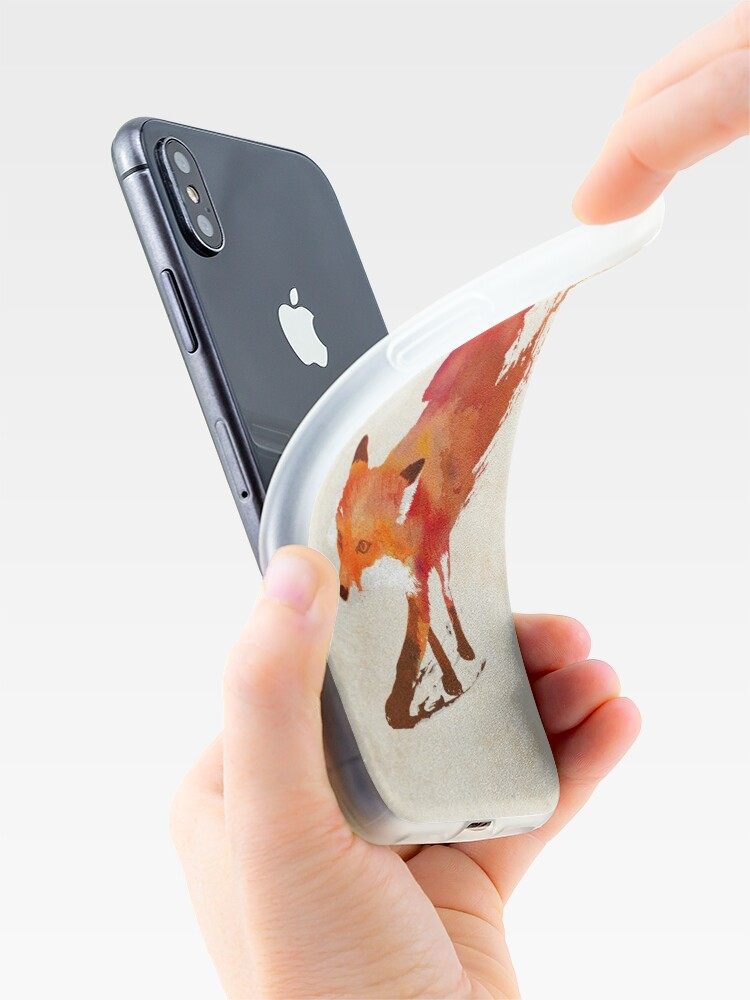 Alternate view of Vulpes Vulpes iPhone Case & Cover