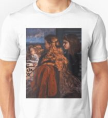Gustave Courbet - Three Young Englishwomen by a Window 1865 , Girl with Red Hair T-Shirt