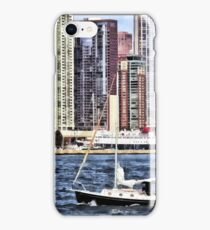 Chicago IL - Sailing on Lake Michigan iPhone Case/Skin