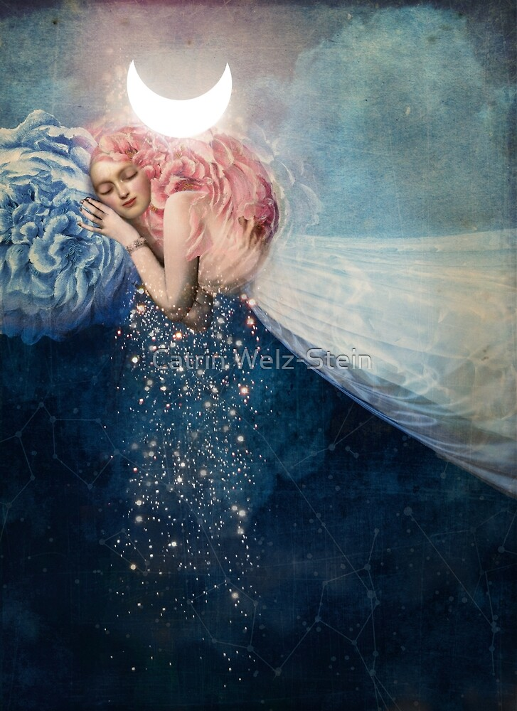 Quot The Sleep Quot By Catrin Welz Stein Redbubble