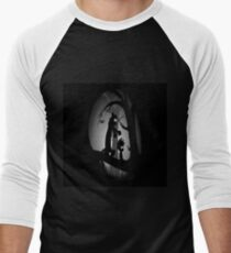Calvin and Hobbes Horror  Men's Baseball ¾ T-Shirt