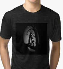 Calvin and Hobbes Horror  Tri-blend T-Shirt
