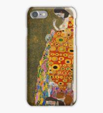 Klimt - Hope . Klimt , Woman  iPhone Case/Skin