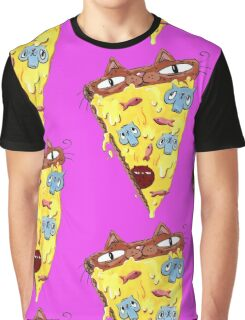 Pizza Kitty Graphic T-Shirt