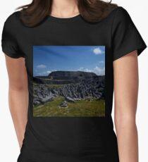 Dun  Aengus Fort, Inishmore, Aran Islands   Women's Fitted T-Shirt