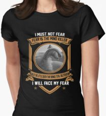 I must not fear Womens Fitted T-Shirt